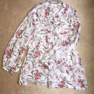 🌷HP🌷 8/13 ANTHROPOLOGIE- ONE FINE DAY BLOUSE